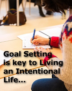 Goal Setting is Key to Living an intentional life